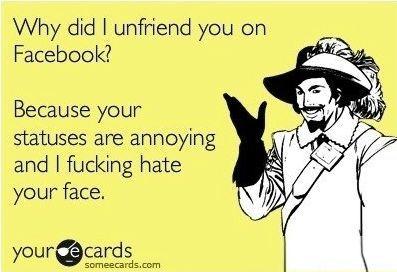 Unfriendies