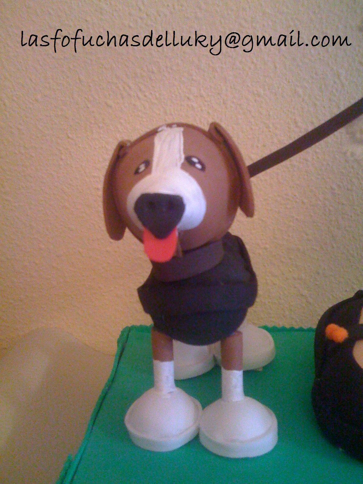 Fofucha Perra de la raza beagle llamada Pepa - front/Fofucha dog beagle called Pepa - front