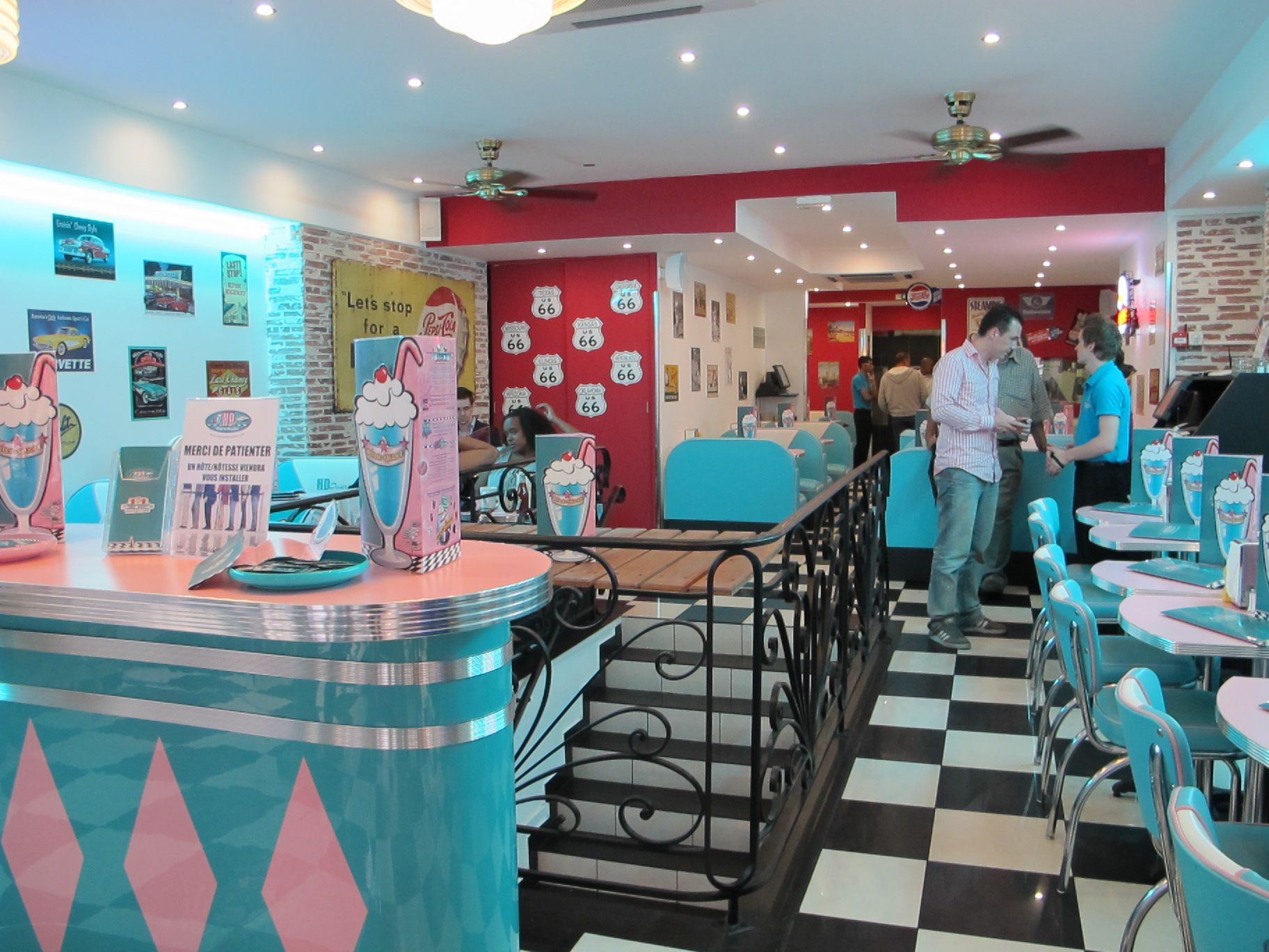 Kitchen Diner Images Hd Diner 1950 39s American Themed Diner In France Bars And