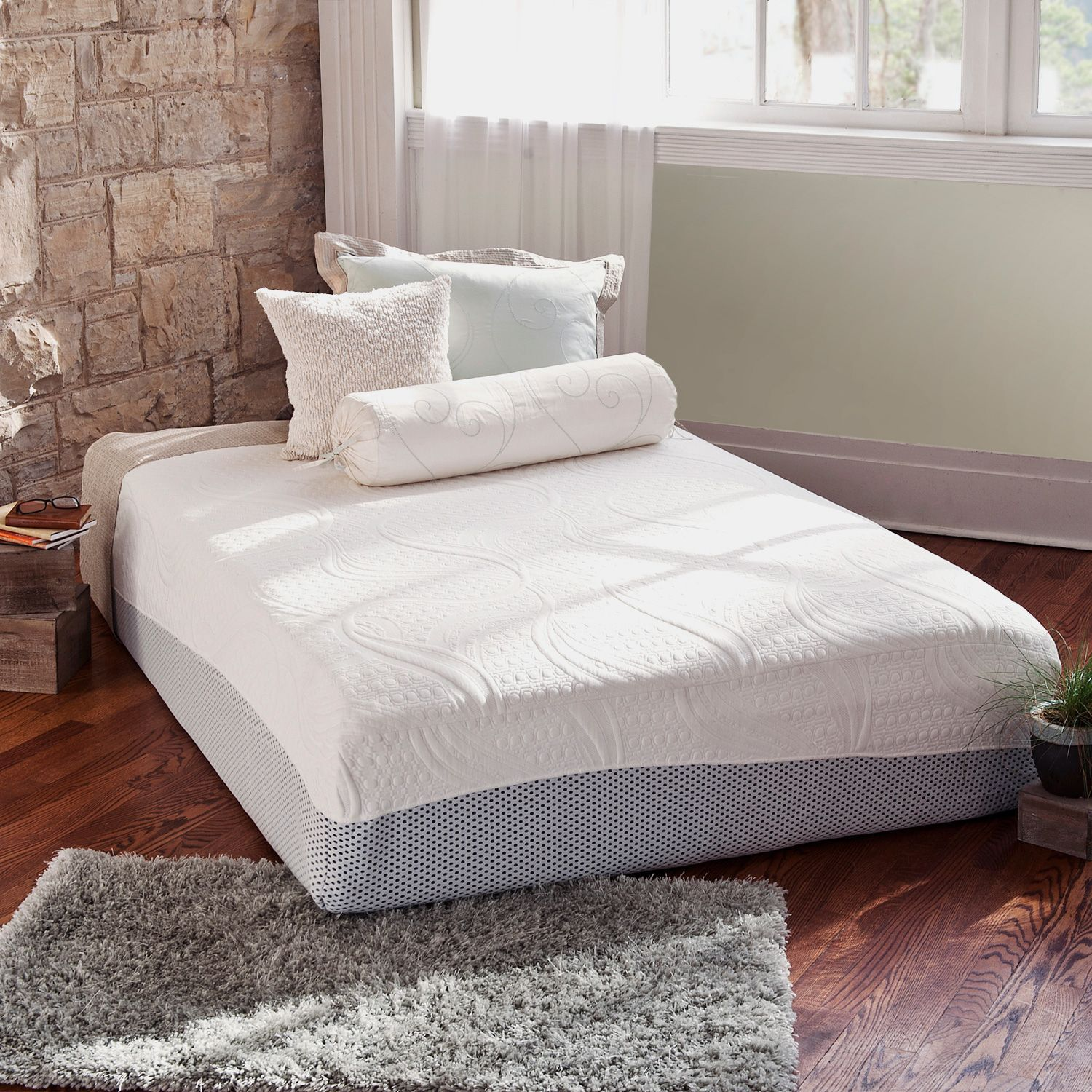 night therapy 12 pressure relief memory foam full mattress memory