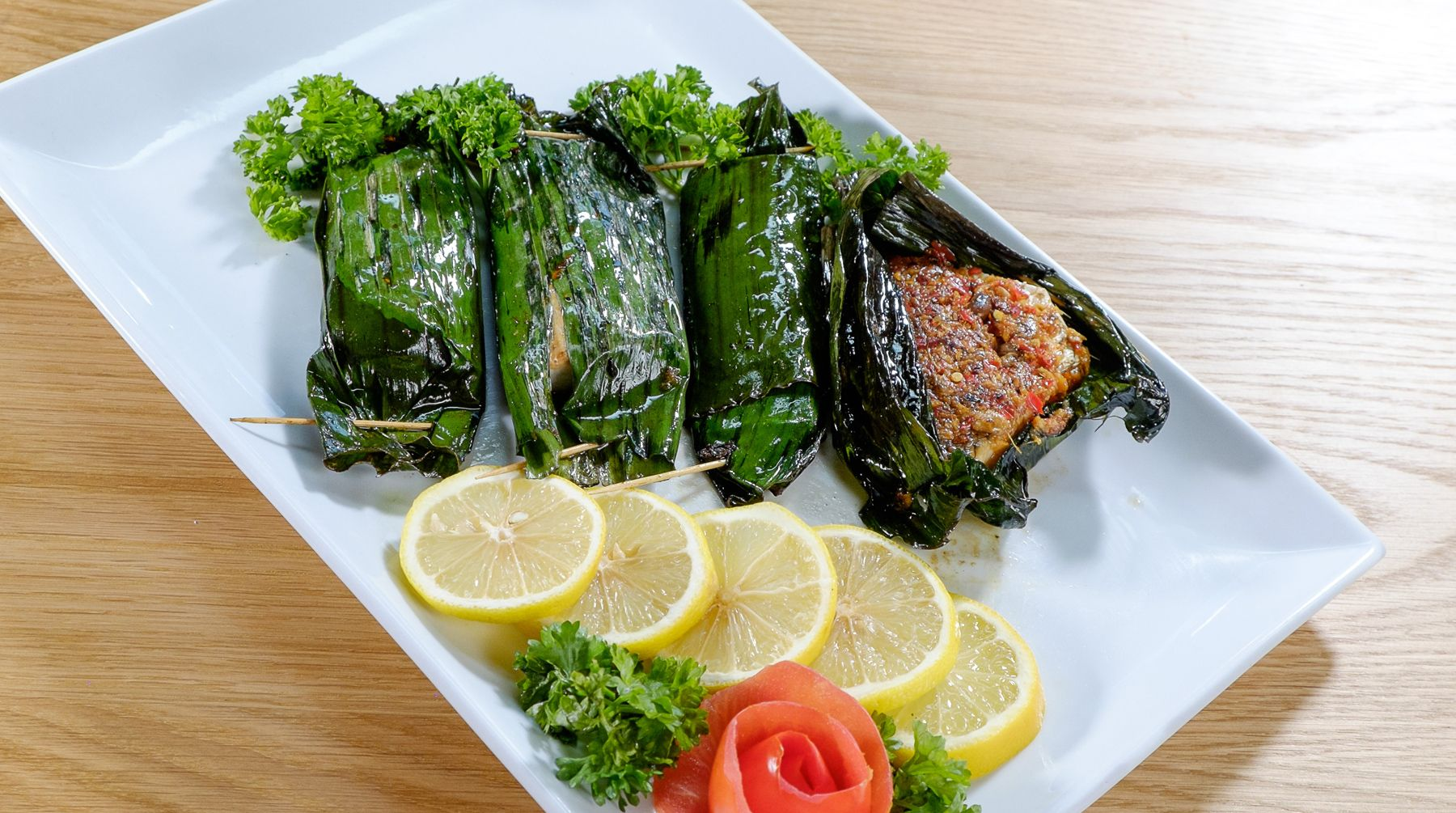Family Kitchen With Sherson Recipes Ikan Bakar Grilled Fish Asian Food Channel Asian Food Channel Asian Recipes Food Network Recipes