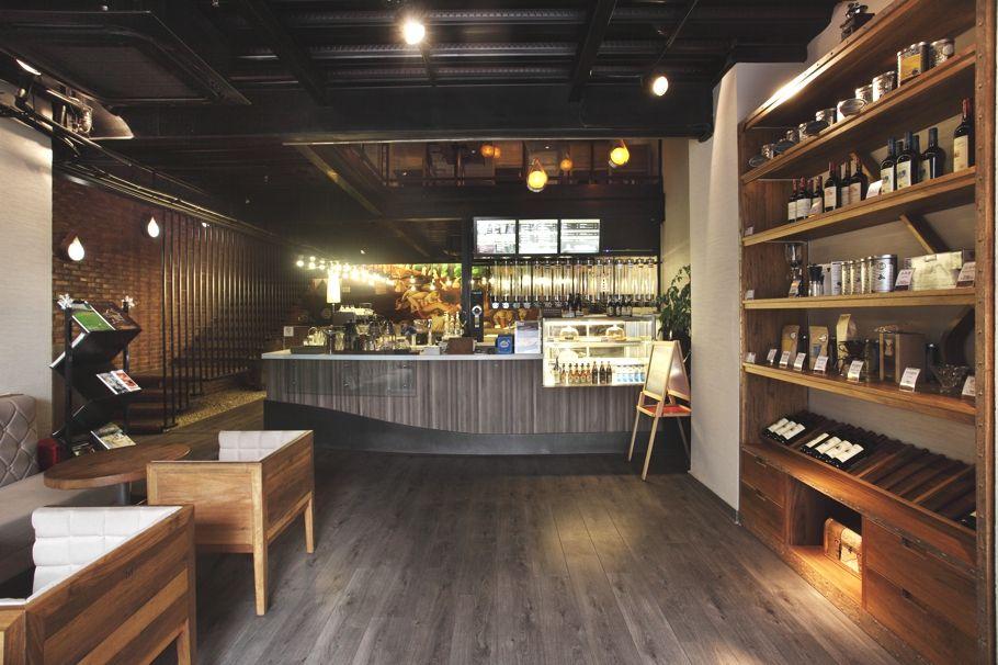 contemporary coffee shop design sichuan china adelto 12 pier walk rh pinterest com contemporary coffee shop design classic and contemporary coffee shop bawtry