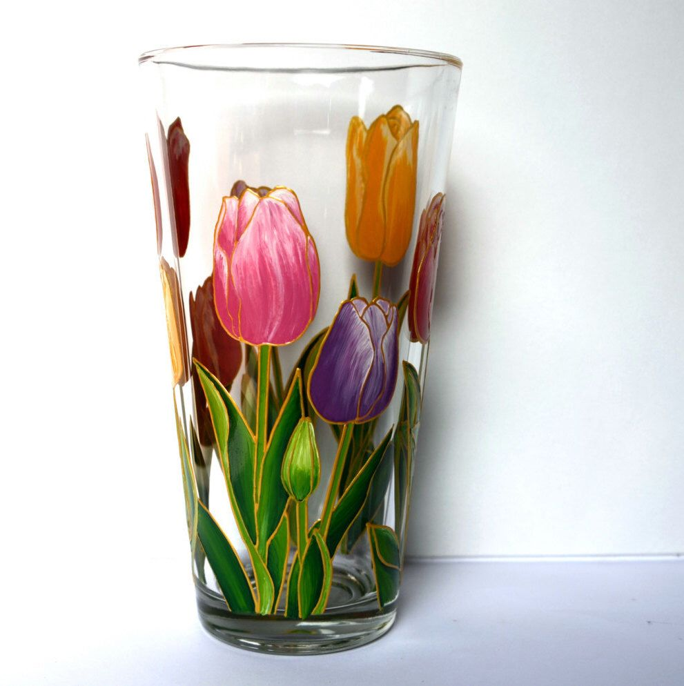 Tulips vase glass vase hand painted hand painted vase painted vase tulips vase glass vase hand painted hand painted vase painted vase hand painted glass painted glass reviewsmspy