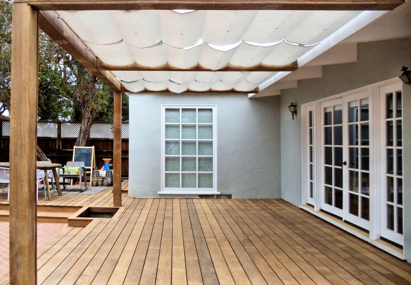 Slide Wire Cable Awnings Superior Awning Backyard