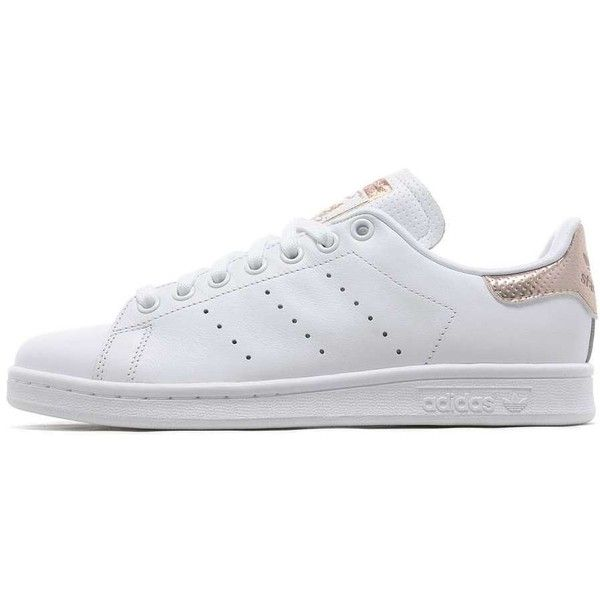 new product a5e9c 70fed adidas Originals Stan Smith Women s (115 CAD) ❤ liked on Polyvore featuring  shoes, sneakers, pointed shoes, leather shoes, adidas originals shoes, ...
