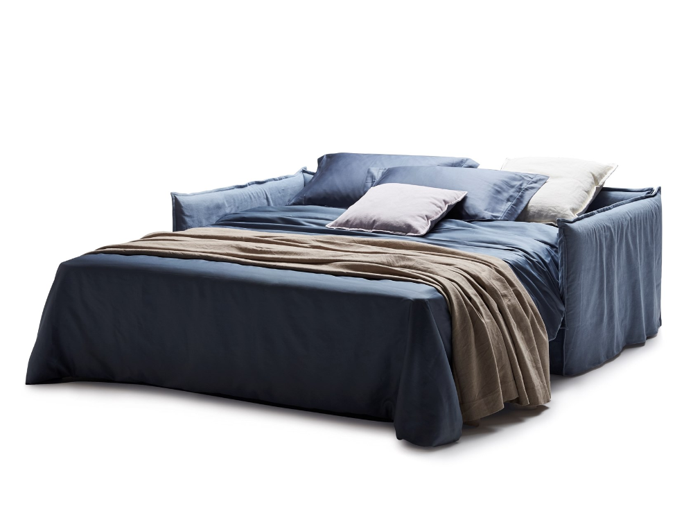 Fabric Sofa Bed With Removable Cover Clarke Xl By Milano Bedding V 2020 G