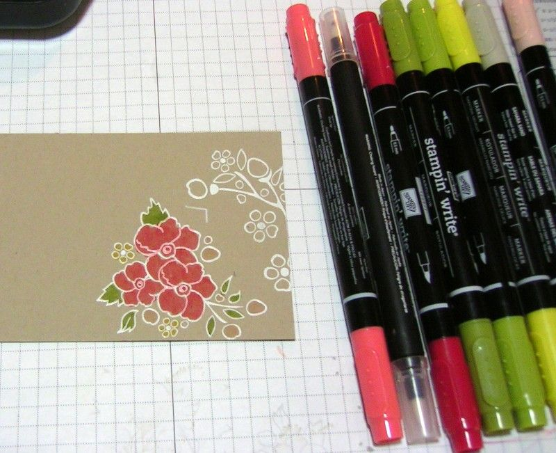 Watercolor Pencils w/Blender Pens by Stampin' Up!