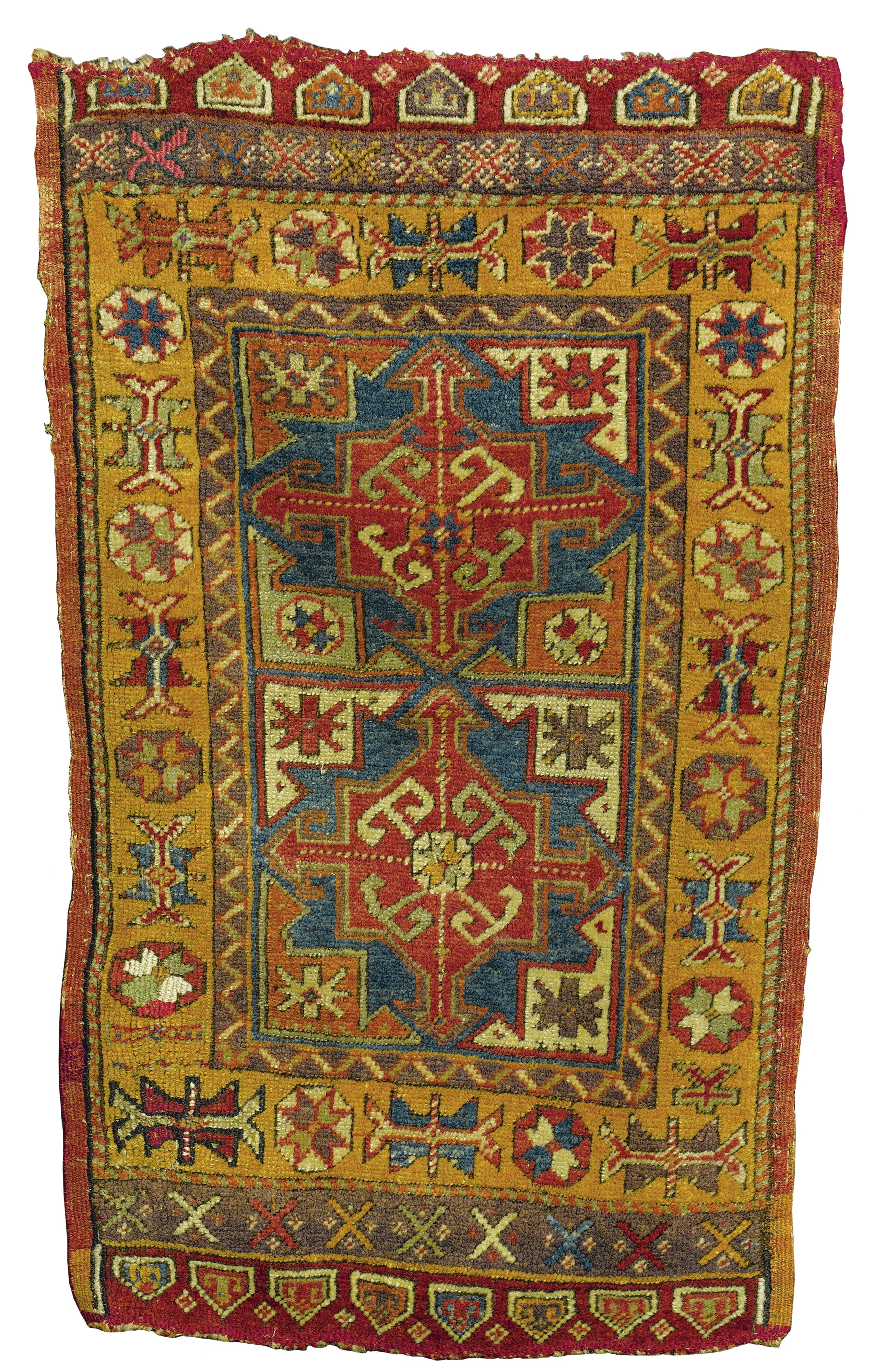 Kelim Teppiche Central Anatolian Yastiks Approximately 3ft 6in By 2ft 1in