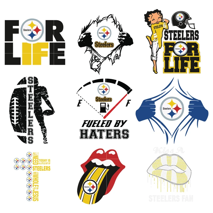 Pittsburgh Steelers Svg Nba Pittsburgh Steelers Logo Pittsburgh Steelers Steelers