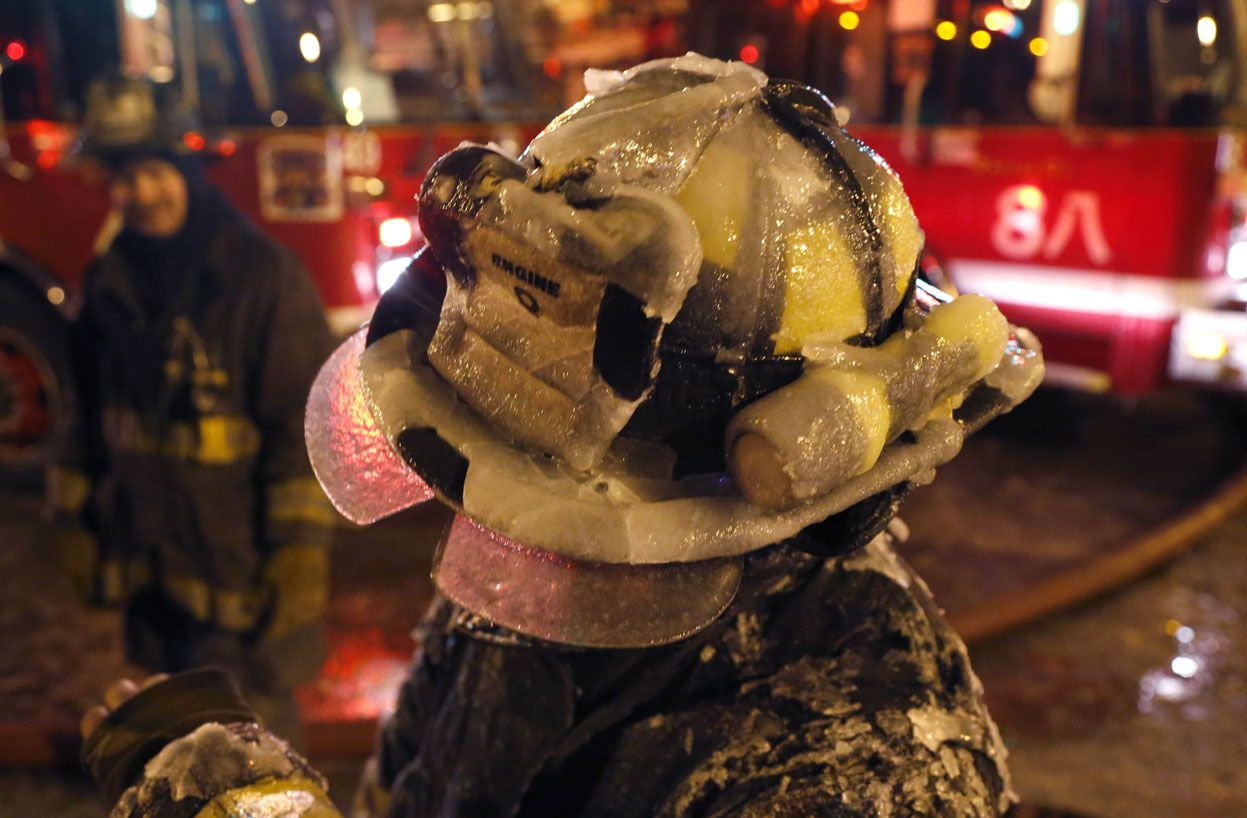 Chicago's Freezing Fire - In Focus - The Atlantic