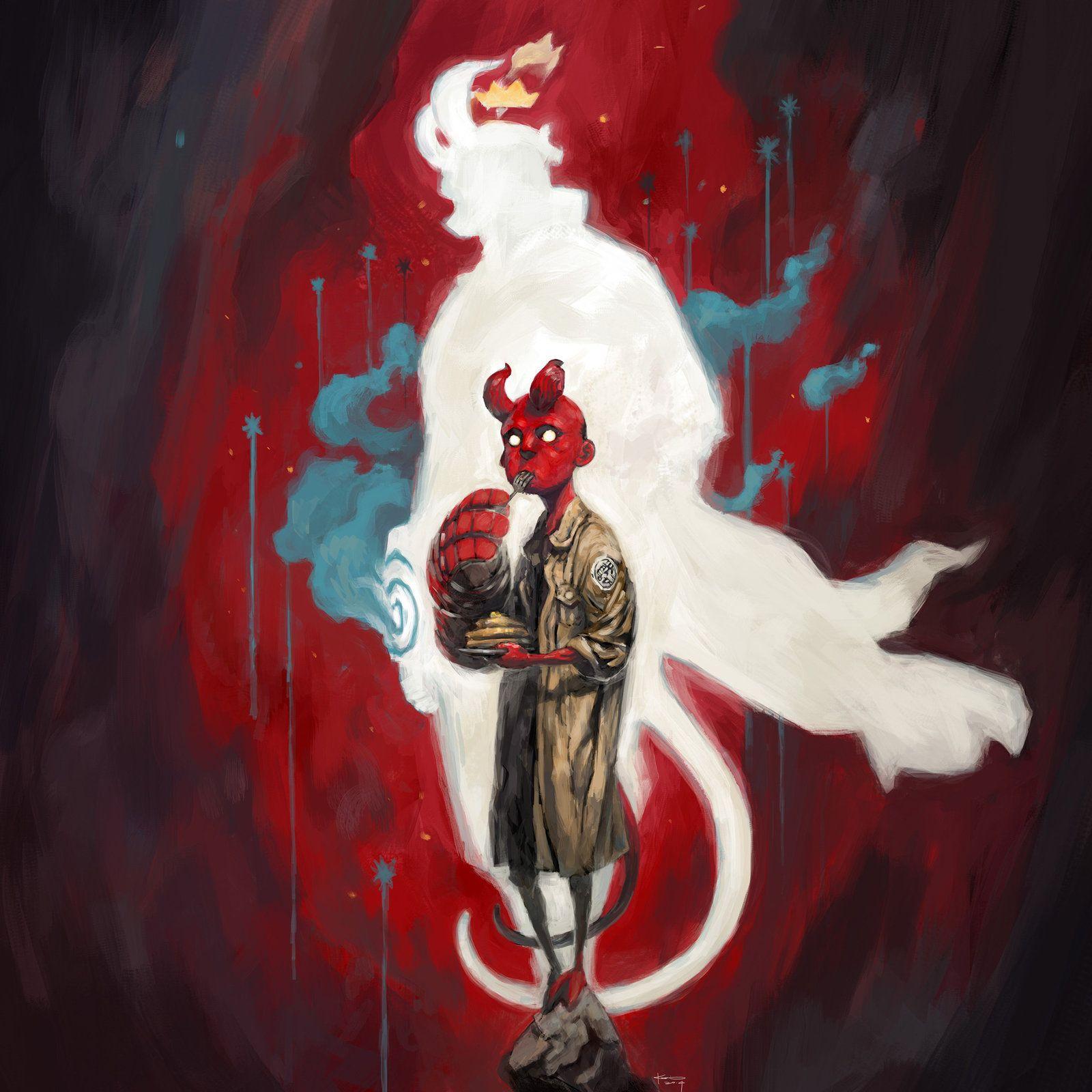 hellboy fanart by kian02.deviantart.com on @deviantART