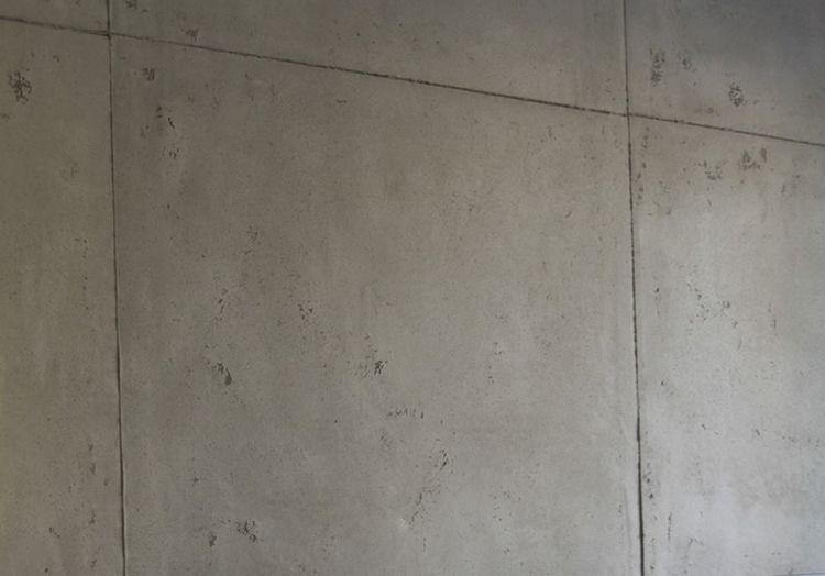 Wand in Sichtbetonoptik    wwwmalerische-wohnideende blog - wohnideen wandputz wohnzimmer