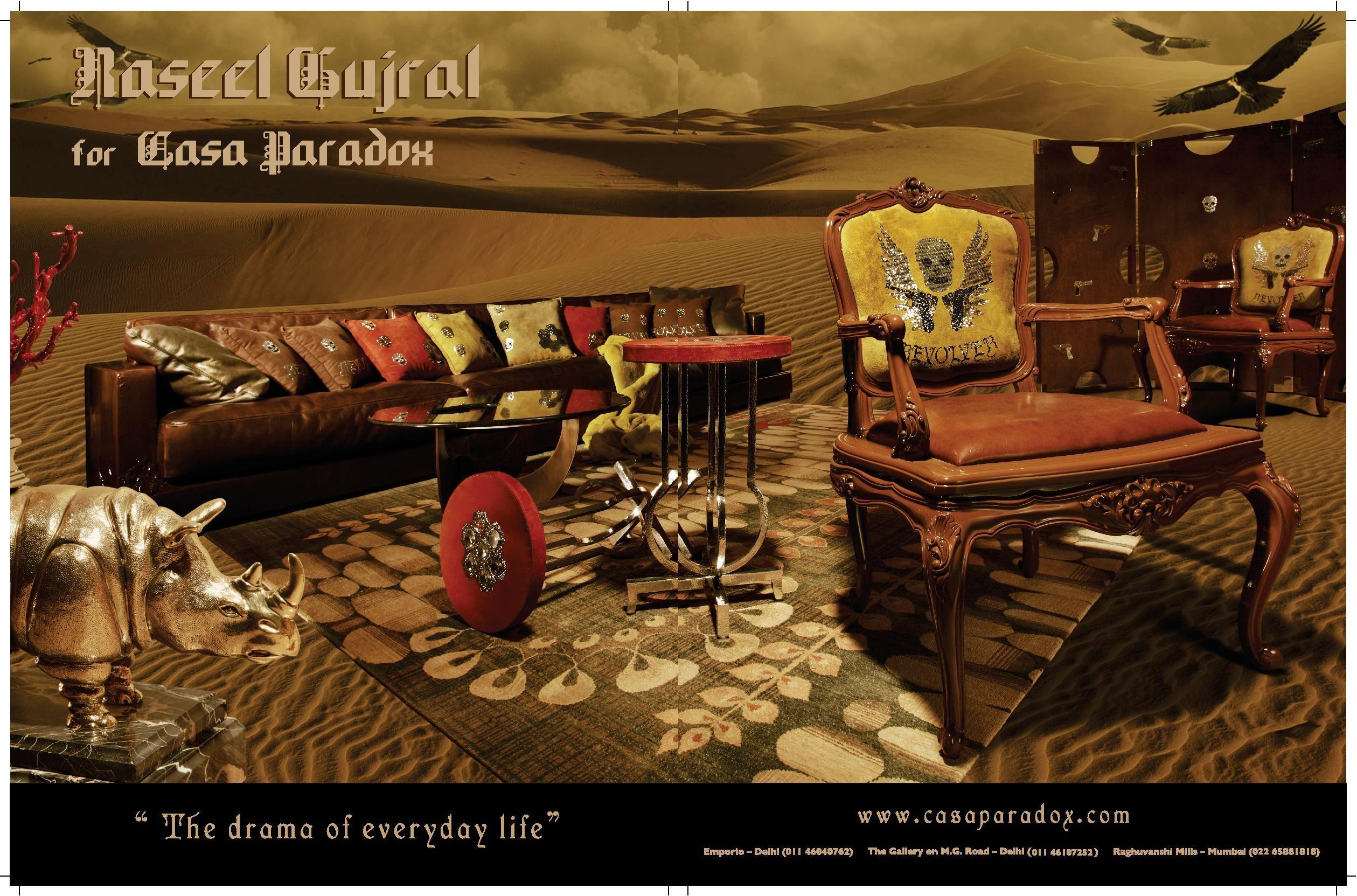 Casa Paradox In Airplanes Magazine Elle Decor 2012 In Media  # Muebles Kasa Design