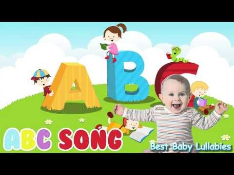 ♥ ABC Songs To Put A Baby To Sleep Lyrics-Baby Lullaby Lullabies