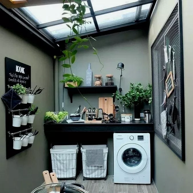 27 Functional And Stylish Laundry Room Design Ideas To Inspire Roomideas Laundryroomdesign Laundryr Outdoor Laundry Rooms Stylish Laundry Room House Design
