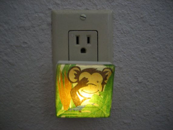 Night Light ideal for Entrance Hallway Bathroom by SilvanaD, $12.99