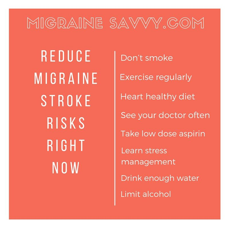 Here Are 8 Tips To Reduce Migraine Stroke Risks Right Now.