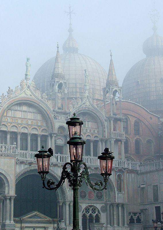 San Marco nella nebbia
