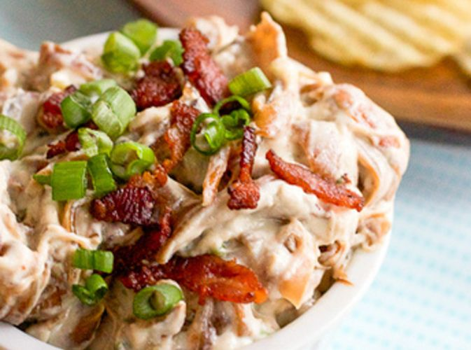 Bacon, Scallion and Caramelized Onion Dip