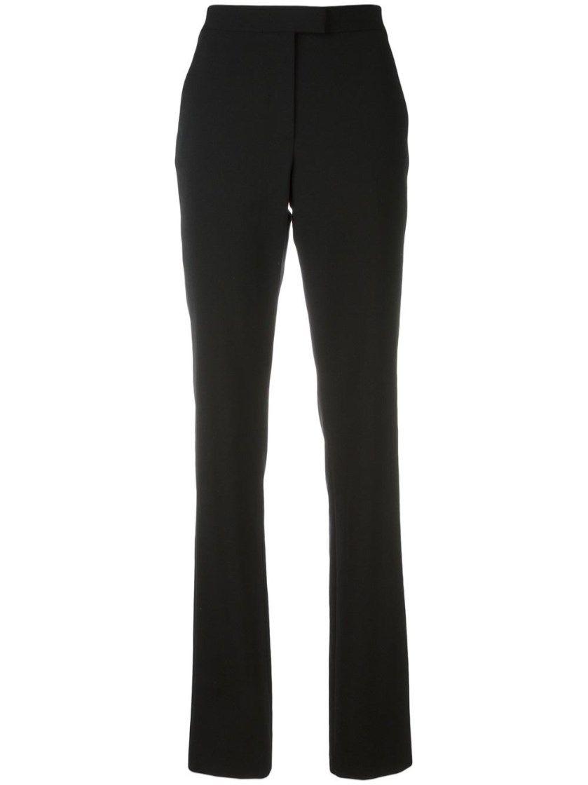 3938da4a012d RED VALENTINO Black Elasticated Wool Pants.  redvalentino  cloth  classic  pants