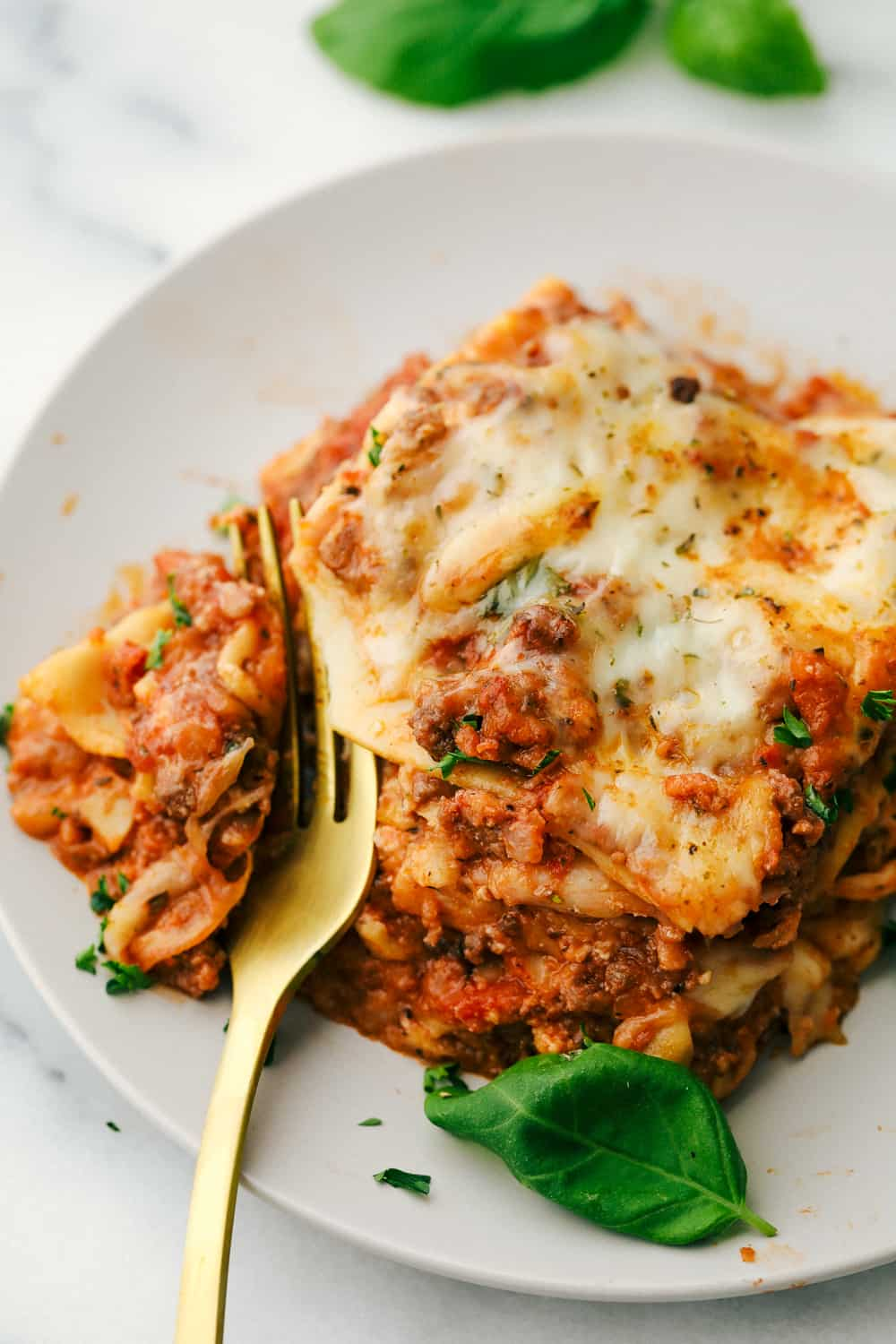 The Best Classic Lasagna Ever Has Layers Of Sauteed Ground Beef And Italian Sausage That Are Cooked Together Best Lasagna Recipe Classic Lasagna Lasagna Recipe