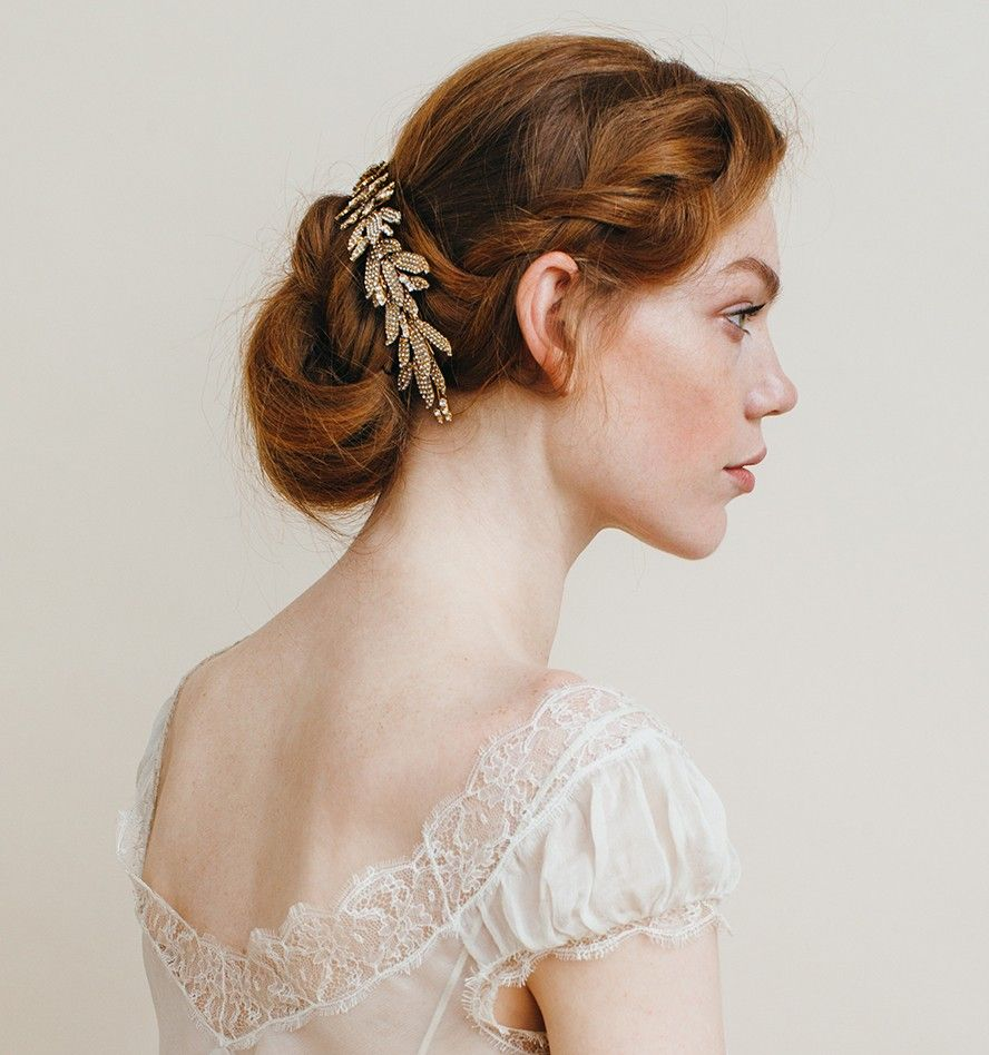 Arielle Chignon Wrap with Double Comb by Jennifer Behr