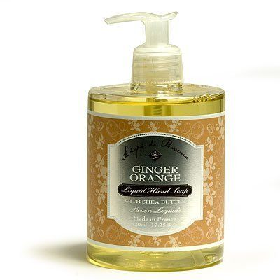 L'Epi de Provence Ginger Orange Liquid Hand Soap with Shea Butter and Argan Oil 17.25 oz by L'Epi de Provence. $14.50. Product of France. Shea Butter and Argan Oil Enriched. Plastic safety pump bottle. From L'Epi de Provence, Ginger Orange Liquid hand soap enriched with shea butter and argan oil leaves hands smooth and moisturized. Great for dry skin.