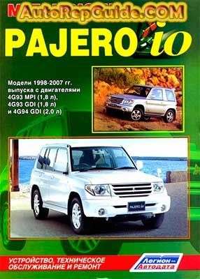 Download Free Mitsubishi Pajero Io 1998 2007 Image By Autorepguide Com Pajero Io Mitsubishi Pajero Mitsubishi