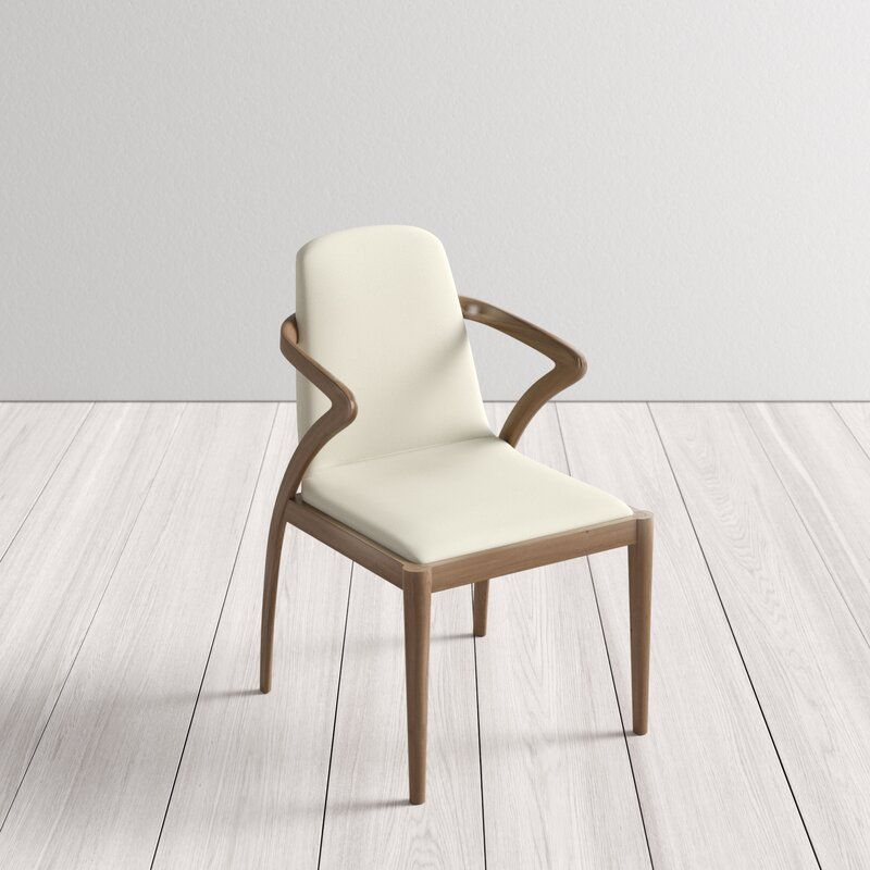 Mora Solid Wood Upholstered Dining Chair Reviews Allmodern In 2021 Solid Wood Chairs Upholstered Dining Chairs Upholstered Arm Chair Cheap dining chairs for sale
