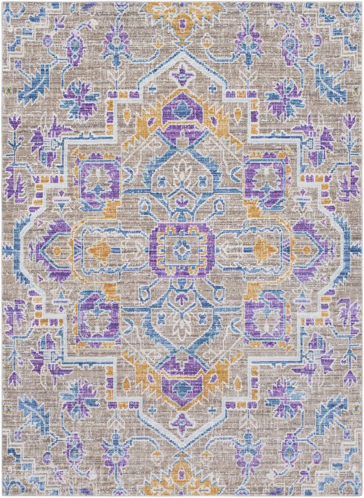 Kamil Blue Purple Area Rug Products Rugs Area Rugs Purple