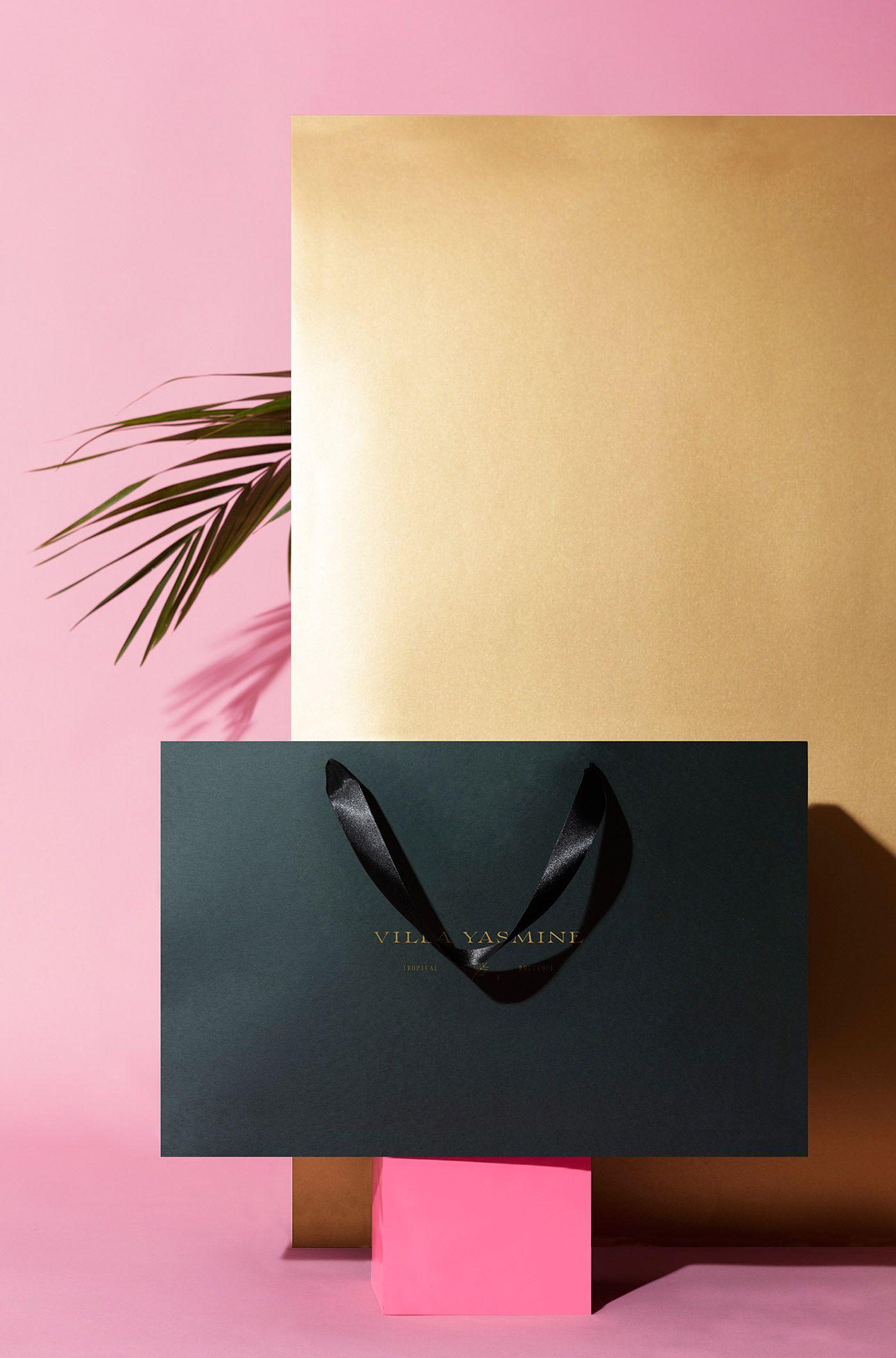 Villa Yasmine Branding Branding, Brand identity design