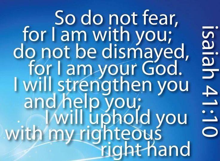 Do Not Fear !