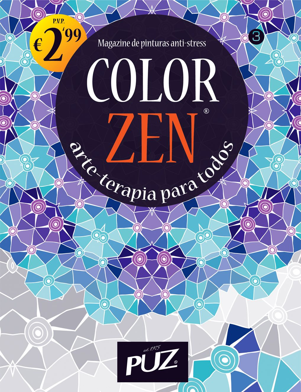Color zen magazine - Color Zen Nr 3 Magazine De Pinturas Anti Stress Da Puz Arte