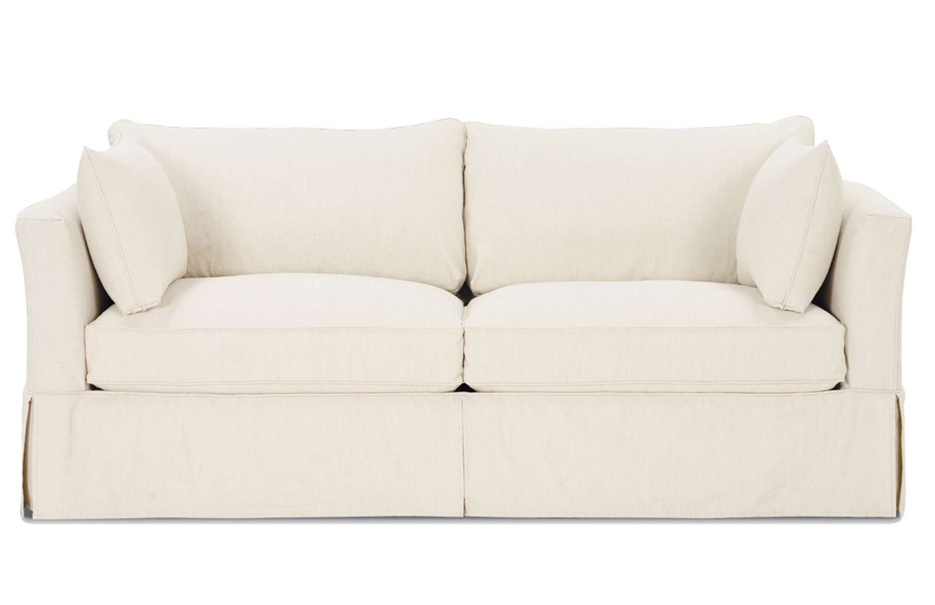 The Darby Slipcover Sofa Is An Elegant Modern Design From