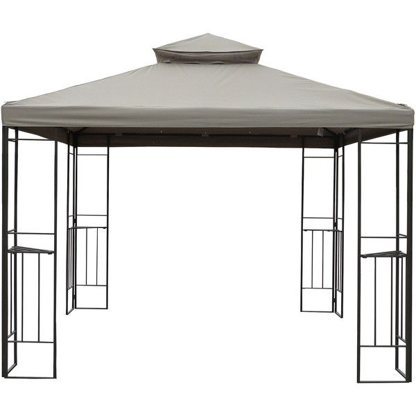 Outdoor Oasis™ Outdoor Gazebo (315 CAD) ❤ liked on Polyvore featuring home, outdoors, outdoor decor, outside garden decor, outdoor garden decor and outdoor patio decor