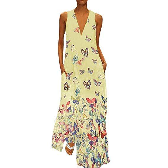 d4712264d7 Maxi Dresses~Hotsell〔☀ㄥ☀〕Women Puls Size Dresses Women's Sun Dress