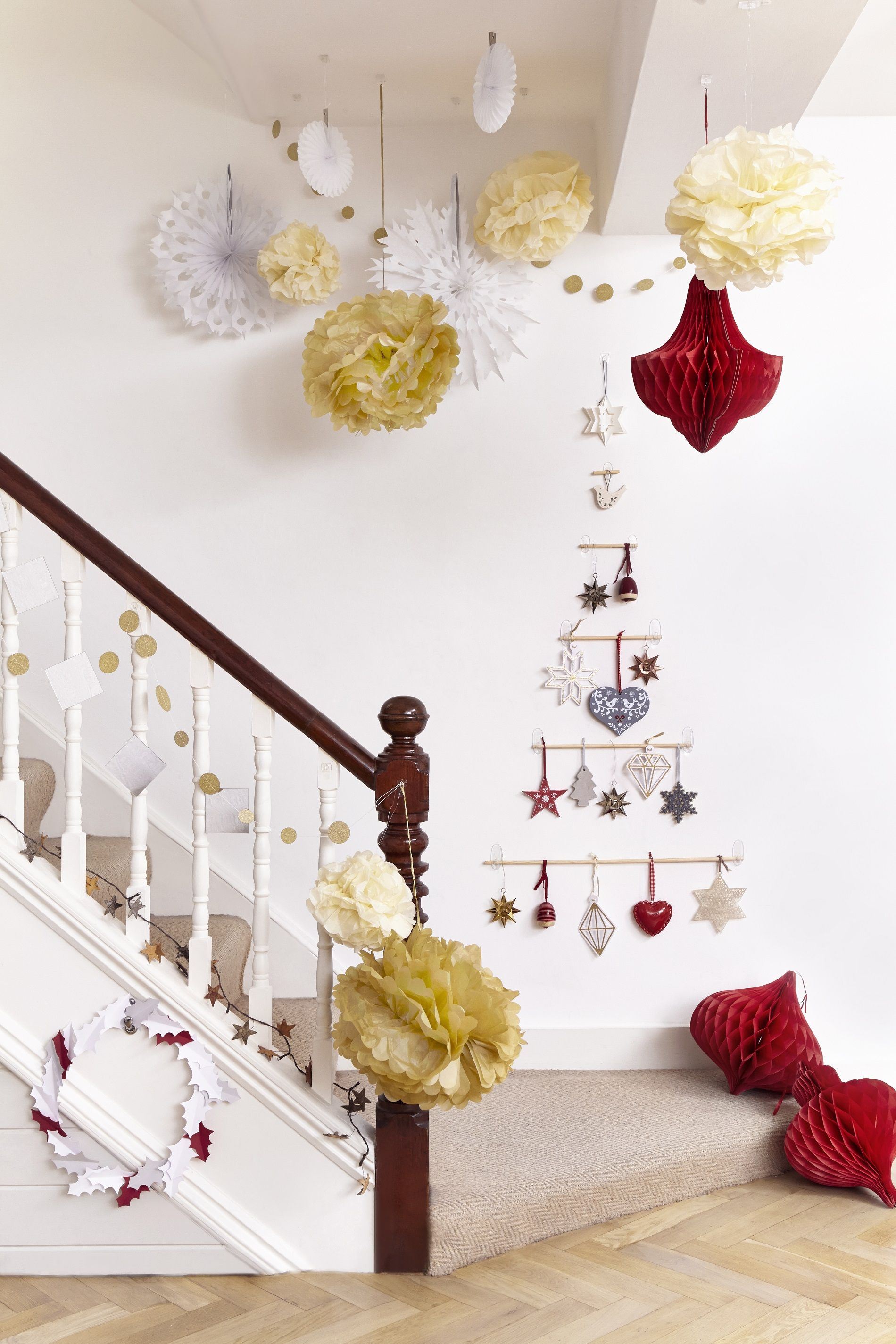 Deck Your Halls With Command This Christmas These Decorations Were All Put Up Using Command Ce Christmas Crafts Decorations Christmas Decorations Decor Crafts