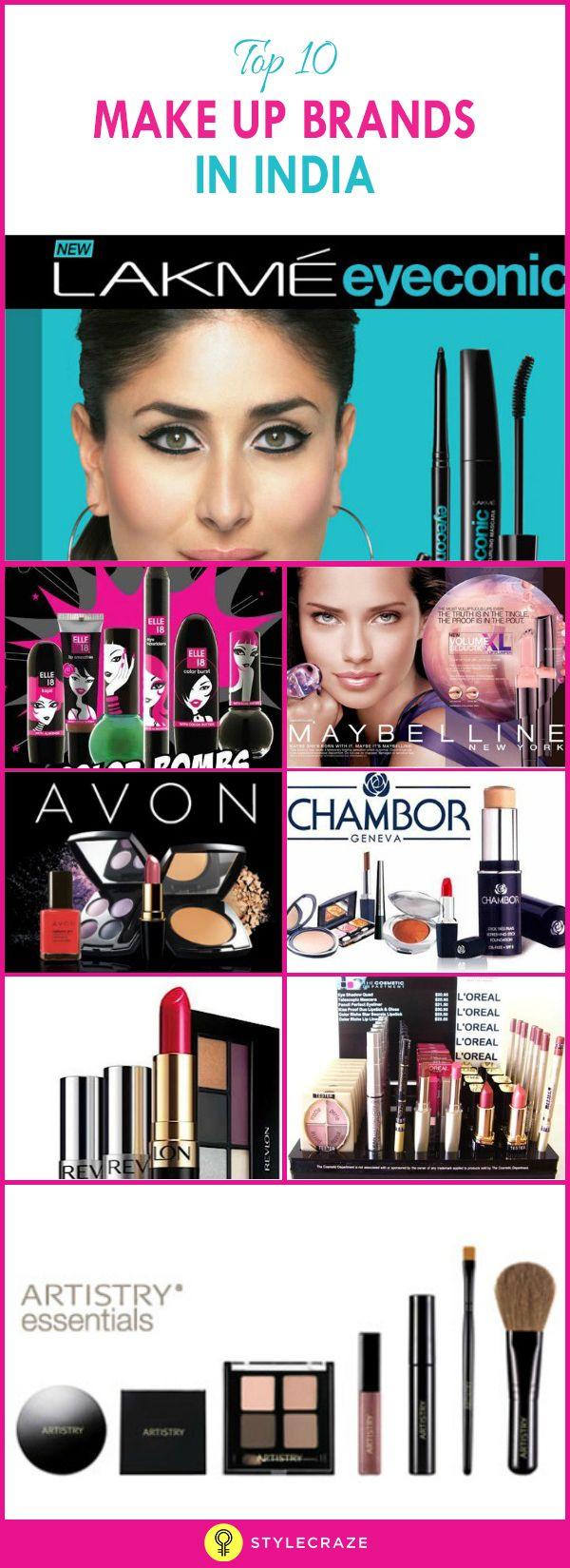15 Best Makeup Cosmetics Brands In India 2020 Update Indian Makeup Brands Top Cosmetic Brands Cosmetics Brands