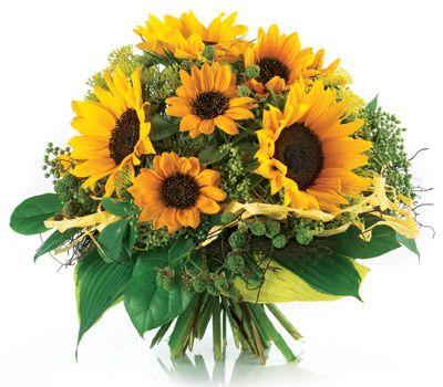 Bukiet Slonecznikow Kwiaciarnia Internetowa Kwiaty Poczta Przesylka Kwiatowa Euroflorist Sunflower Bouquets Flowers Floral Wreath