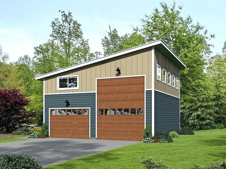 Image result for rv garage floor plans with 2 apartments