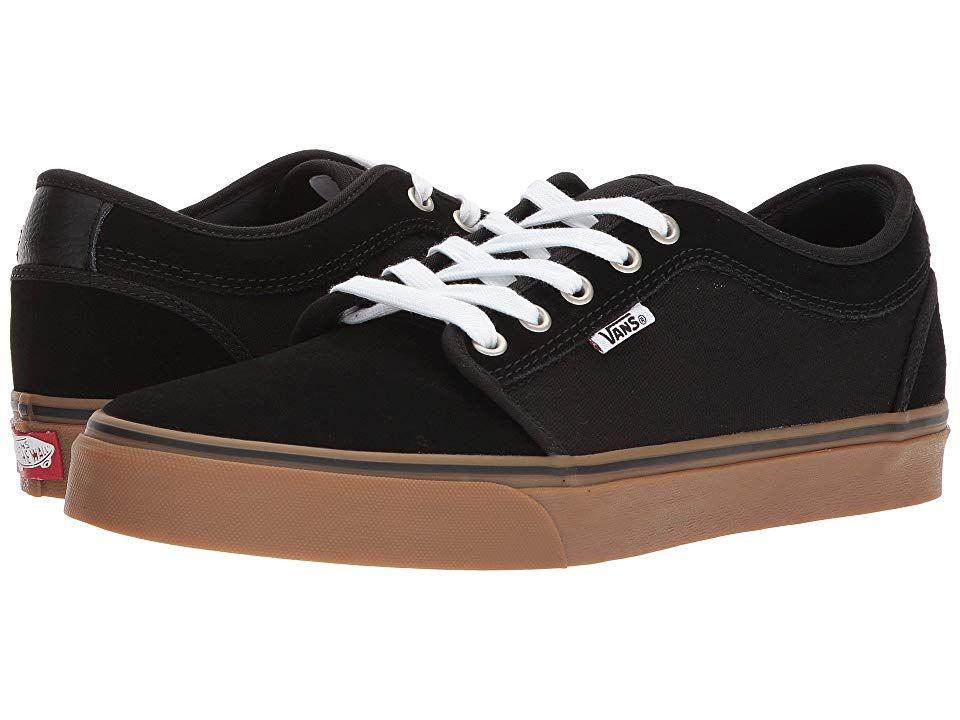 vans chukka boot black gum