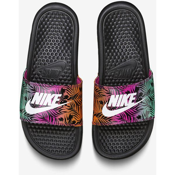 Nike Benassi Just Do It Print Preschool