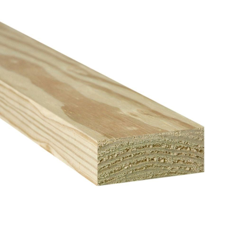 Weathershield 2 In X 4 In X 10 Ft 2 Prime Ground Contact Pressure Treated Lumber 253920 The Home Depot Weathershield Building A Fence Diy Fence