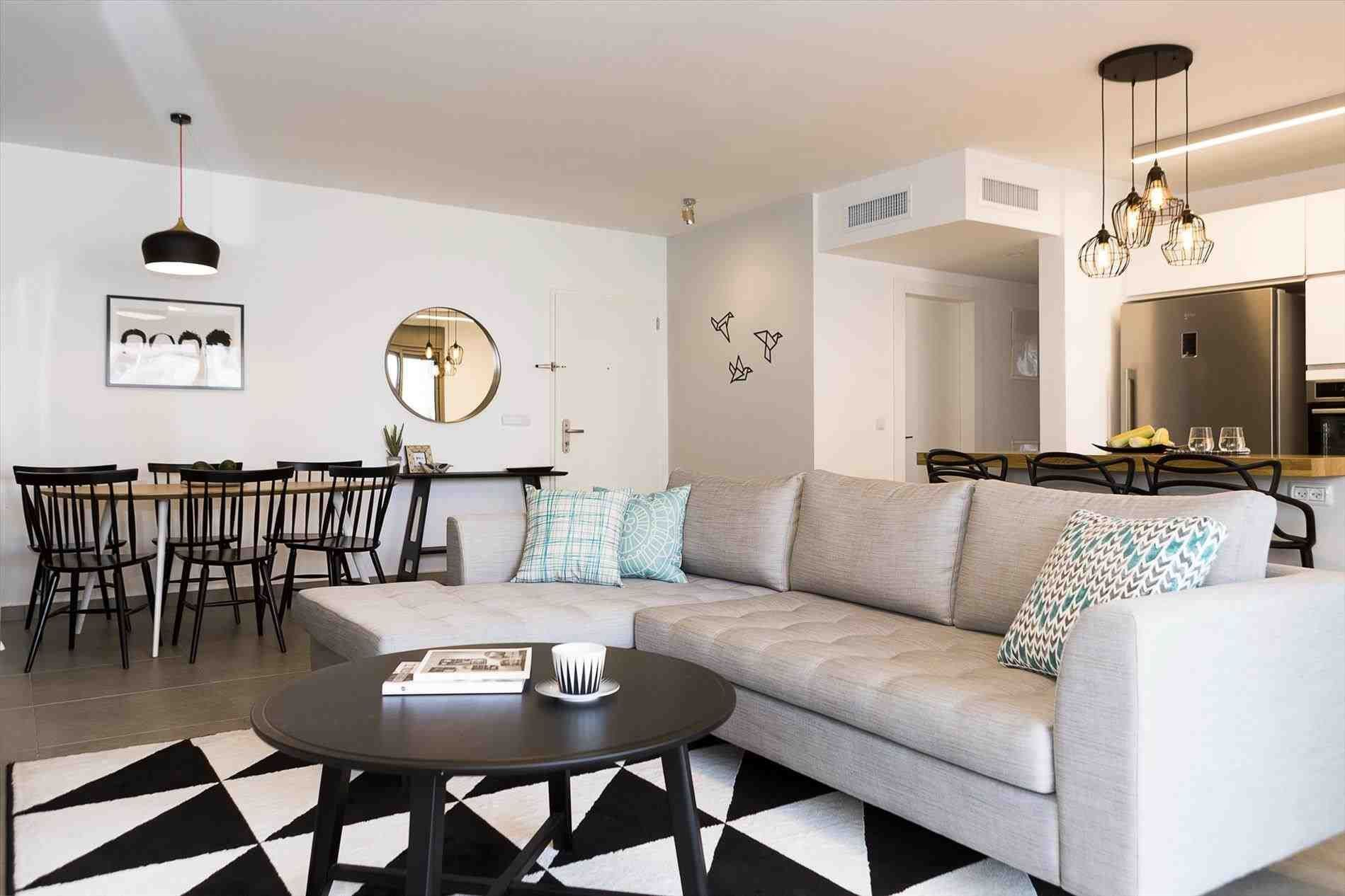 Couple Apartment  Soothing Transformation Inspiration How A Couple Turned