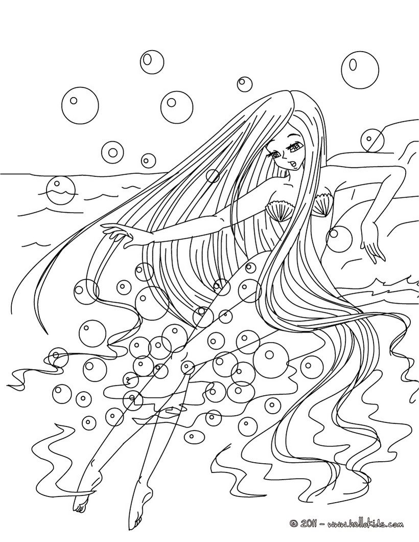 Andersen Fairy Tales Coloring Pages The Little Mermaid Tale Mermaid Coloring Pages Ariel Coloring Pages Coloring Pages [ 1060 x 820 Pixel ]