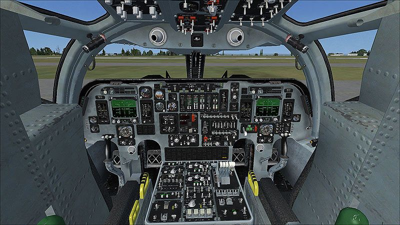 B 1b Cockpit Virtavia B 1b Lancer Fsx Flight Simulator X 3 Jpg