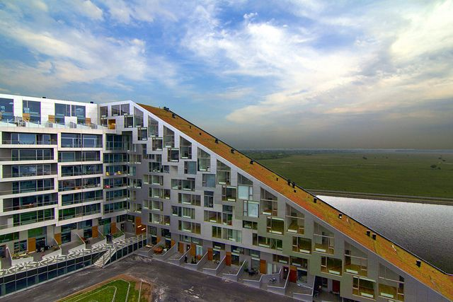 8TALLET (8 House), Copenhagen - designed by Bjarke Ingels (BIG). 8TALLET was voted the 'World's best housing' at the World Architecture Festival in Barcelona in November 2011