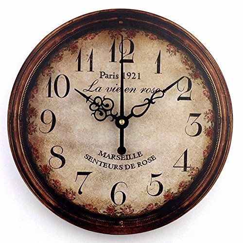 nice design quiet wall clock. HOT PRICES FROM ALI  Buy vintage large decorative wall clock home decor fashion silent modern design antique living room watch for Wall Decor Clock Large Decorative Living Room Quiet