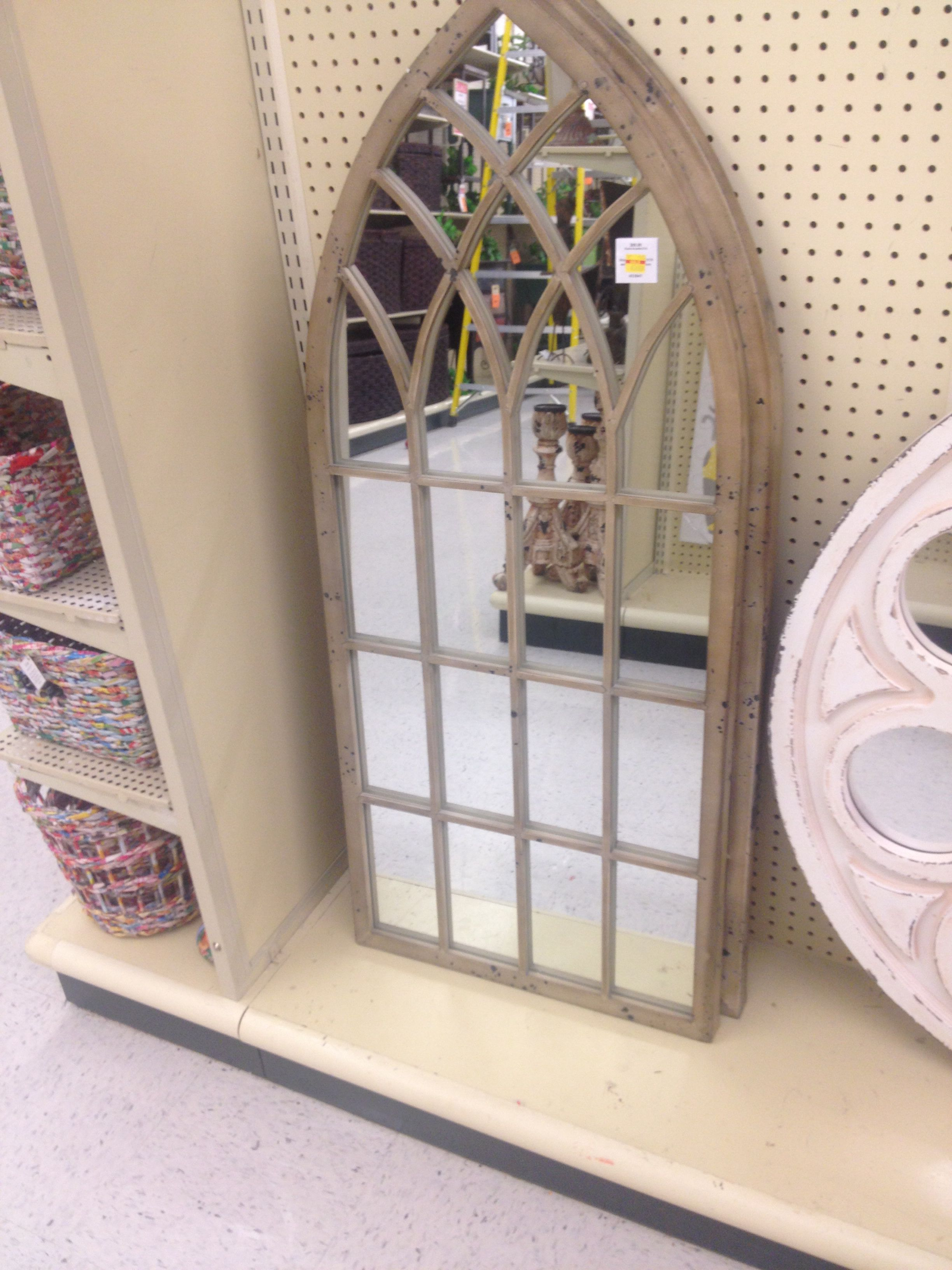 Antiqued Mirror Window Hobby Lobby Banta House