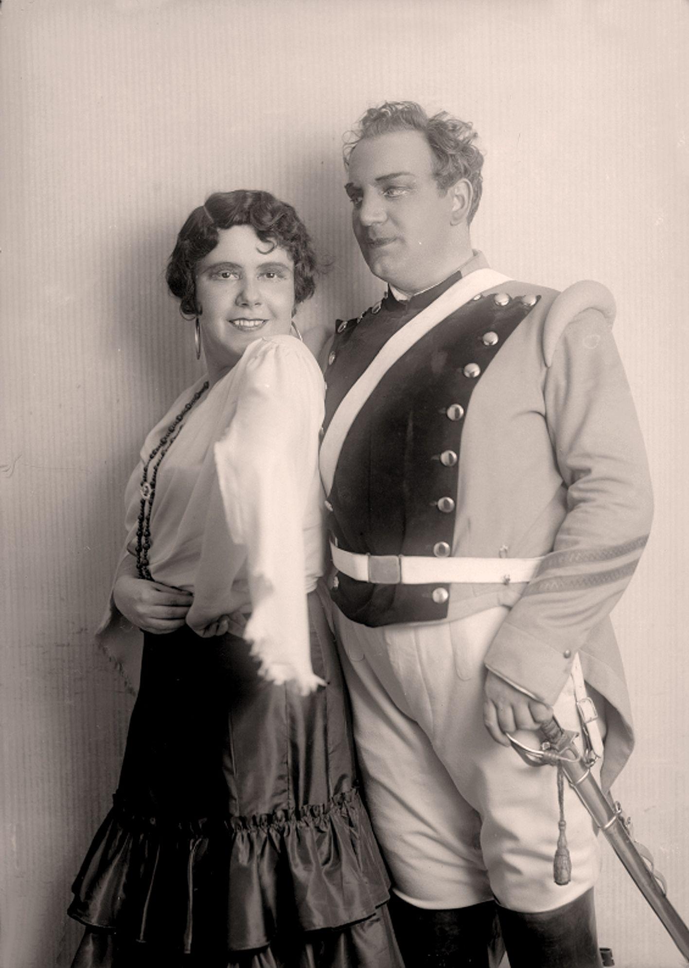 "Rosette Anday + Richard Tauber "" Carmen "" Wien 1933"